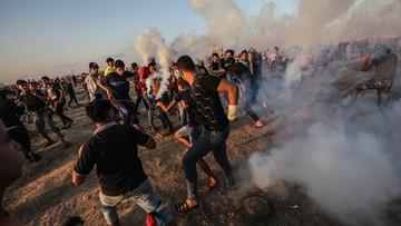 Izrael ostrzelał Strefę Gazy. Odwet za wcześniejszy ostrzał rakietowy