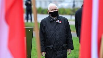 Kaczyński: wyrażam wdzięczność, że daliście opór nihilizmowi, który profanował miejsca kultu