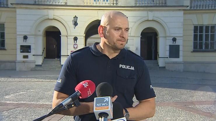 """""""Podstawą działania jest fakt naruszenia prawa"""". Policja o piątkowych protestach w Warszawie [WIDEO]"""