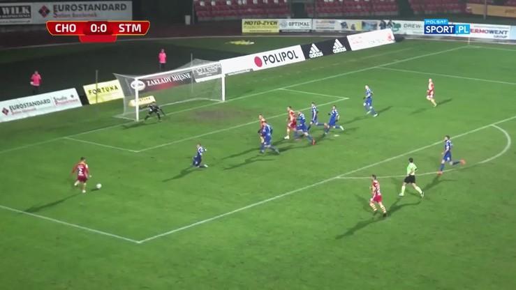 Chojniczanka Chojnice - PGE Stal Mielec 0:2. Skrót meczu