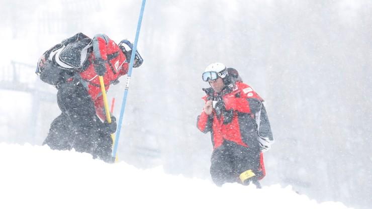 Alpejski PŚ: Odwołano męski slalom w Val d'Isere