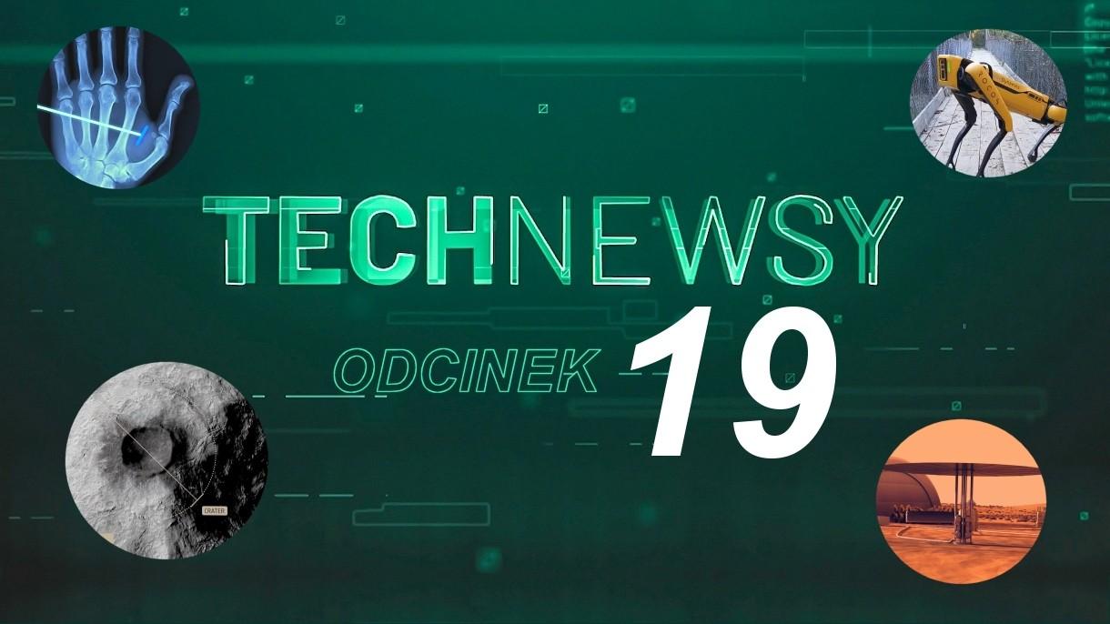 Zobacz TechNewsy odcinek 19 - filmowy przegląd najciekawszych wiadomości