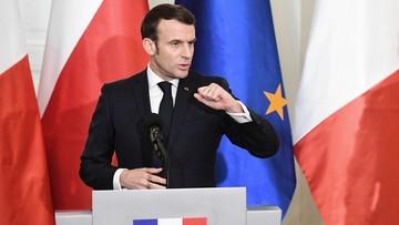 Emmanuel Macron w Krakowie. Wykład o Polsce i Francji w Europie