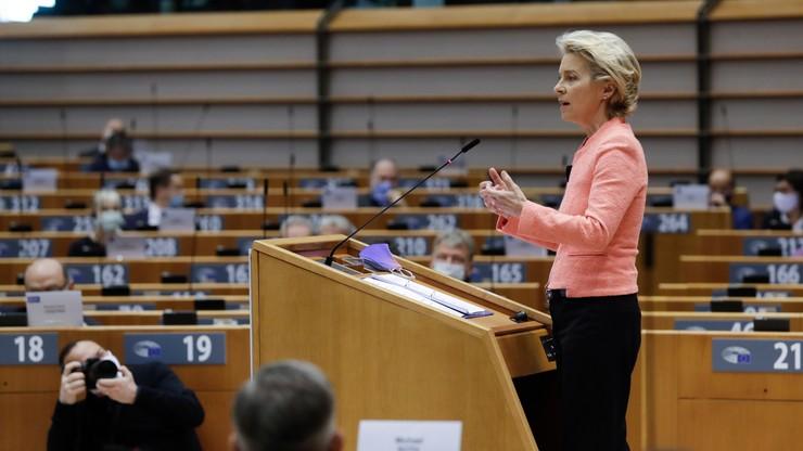 """Von der Leyen: w UE nie ma miejsca na """"strefy wolne od LGBT"""""""