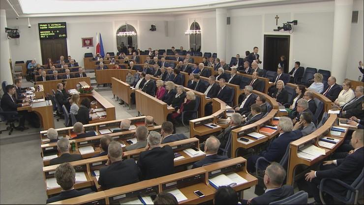 Senat odrzucił nowelizację ustawy o sądach