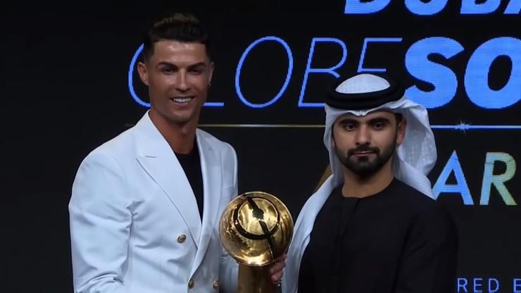 Cristiano Ronaldo piłkarzem roku. Messi, Salah i van Dijk tuż za nim w plebiscycie Globe Soccer Awards