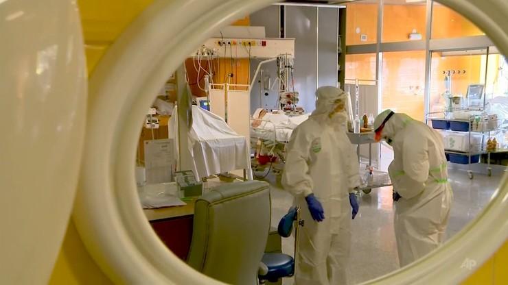 Koronawirus w Polsce. Rekordowa liczba pacjentów pod respiratorami