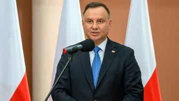 Prezydent o Putinie: Chce wymazać odpowiedzialność Rosji