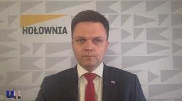 Hołownia: z powodu kandydatury Trzaskowskiego płakać nie będę