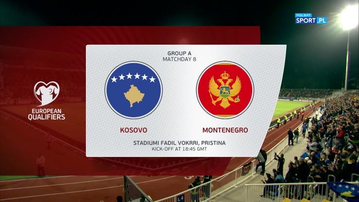 2019-10-14 Kosowo - Czarnogóra 2:0. Skrót meczu