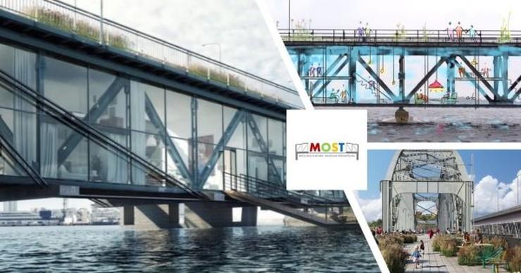 To proponowany przez społeczników wygląd mostu po jego przekształceniu w muzeum