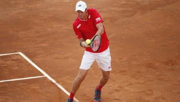 ATP w Rzymie: Hubert Hurkacz przegrał z Diego Schwartzmanem