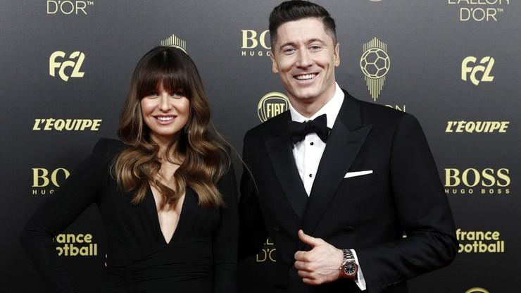 Złota Piłka 2019: Lewandowski z żoną na czerwonym dywanie (WIDEO)