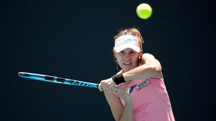 """Łzy Linette po odpadnięciu z Australian Open. """"Zabrakło wszystkiego"""""""