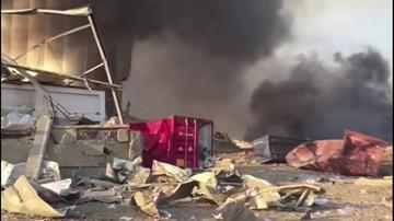Eksplozje w Bejrucie. Co najmniej 10 zabitych, setki rannych