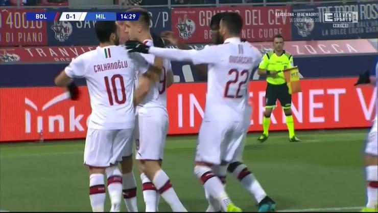 Bologna - AC Milan 2:3. Skrót meczu [ELEVEN SPORTS]