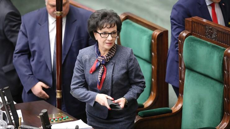 Przekroczenie uprawień przez marszałek Witek. Posłowie KO złożyli zawiadomienie do prokuratury
