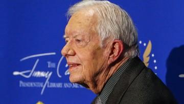 Były prezydent USA, Jimmy Carter, upadł w swoim domu
