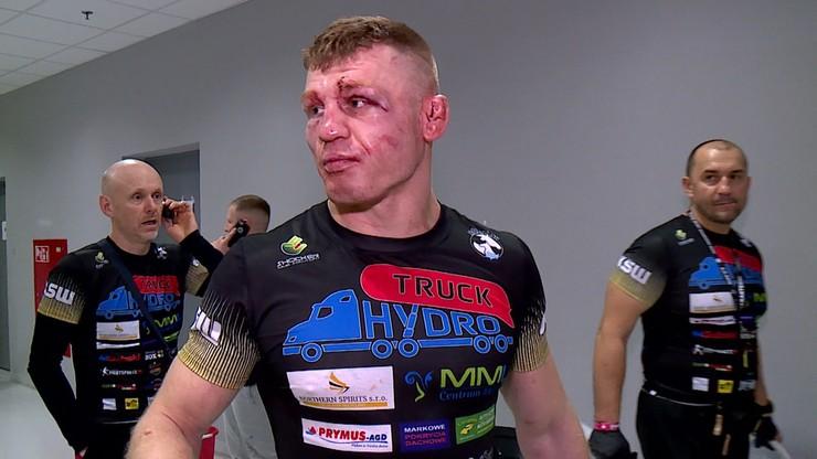 Odzimkowski: Nie chcę zdradzać jaki miałem pomysł na Michalskiego, bo liczę na rewanż