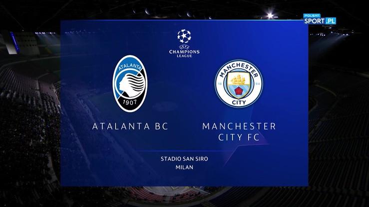 2019-11-06 Atalanta - Manchester City 1:1. Skrót meczu