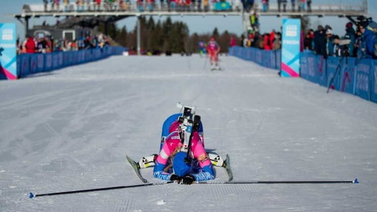 PŚ w biathlonie: Słabe strzelanie i odległa pozycja Polek w sztafecie