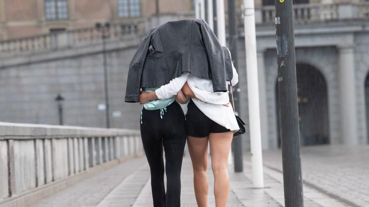 Załamanie pogody. Przejdą burze z przelotnym, ale ulewnym deszczem