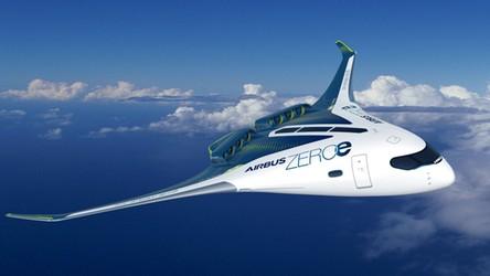 Airbus pokazał pierwszy samolot napędzany wodorem. Wygląda futurystycznie [FILM]
