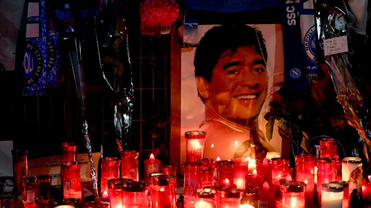 Robili zdjęcia z ciałem Diego Maradony w trumnie. Trafiły do sieci