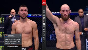 UFC: Porażka Mateusza Gamrota w debiucie