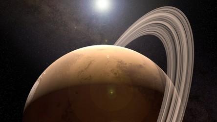 Mars miał pierścienie jak Saturn, ale będzie je jeszcze miał w przyszłości