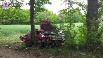 Wypadek w Lubeskiem. Jedna osoba nie żyje, dwie są ranne
