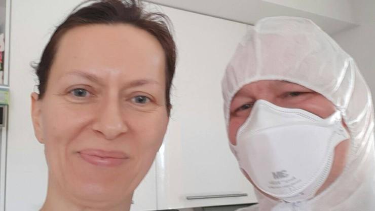 Kolejny dzień kwarantanny rodziny reportera Polsat News. Wizyta lekarza i policji