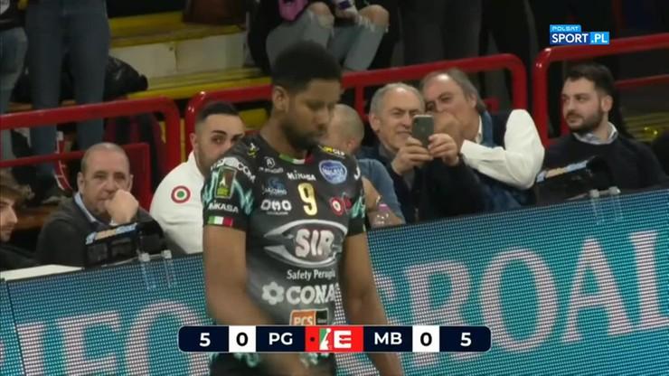 Sir Safety Conad Perugia - Vero Volley Monza 3:0. Skrót meczu