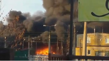 Pożar odpadów w Bytomiu. Miesiąc temu cofnięto zezwolenie na ich składowanie