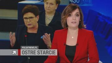Jourova: sytuacja jest poważna. Spurek: karnawał destrukcji. Szydło: Polacy są naszym suwerenem