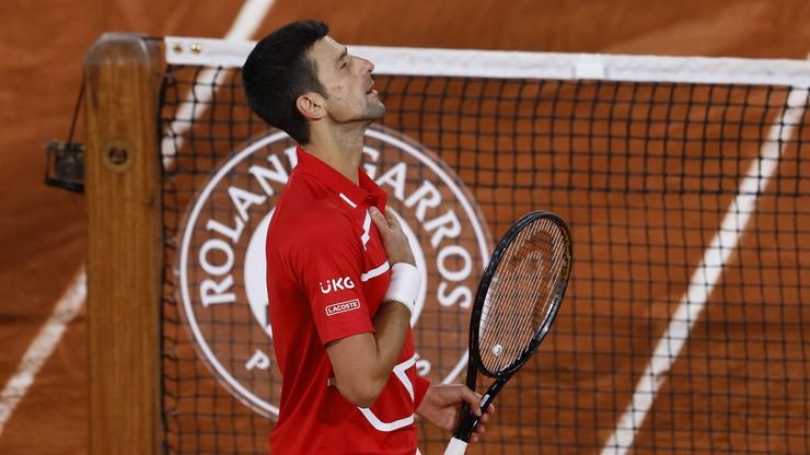 French Open: Novak Djokovic rywalem Rafaela Nadala w finale