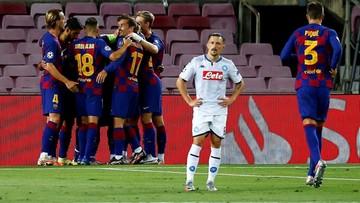 Barcelona pokonała Napoli i awansowała do 1/4 finału Ligi Mistrzów