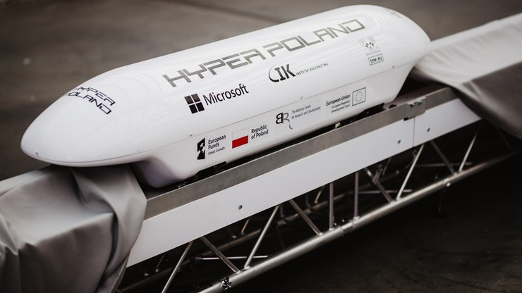 Szybki jak samolot, ale tańszy. Taki ma być hyperloop