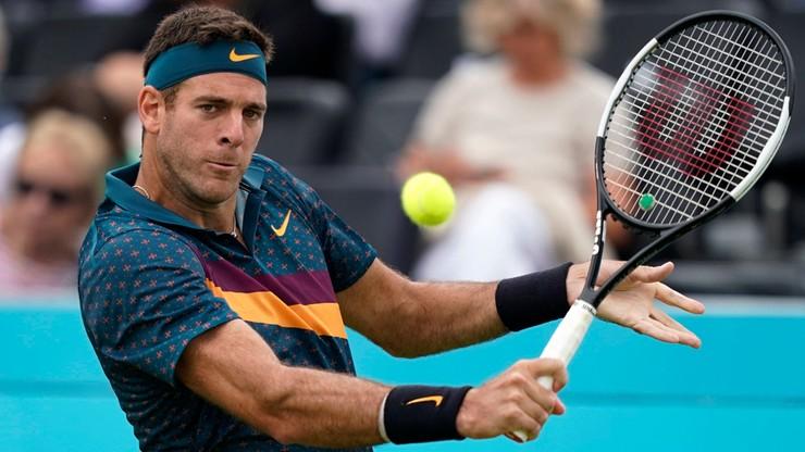 Australian Open: Jeszcze za wcześnie na powrót Del Potro