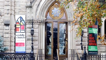 USA: pożar w zabytkowym nowojorskim kościele