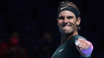 ATP Finals: Nadal w półfinale. Broniący tytułu Tsitsipas poza turniejem