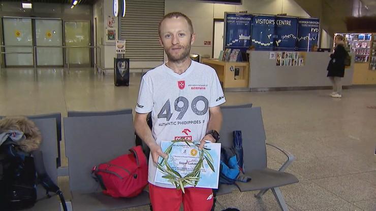 """Polak pobił rekord ultramaratonu. """"Najdłużej spałem 40 minut"""""""