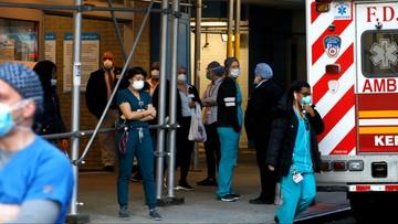 USA: blisko 2 tys. zgonów zakażonych koronawirusem w ciągu doby