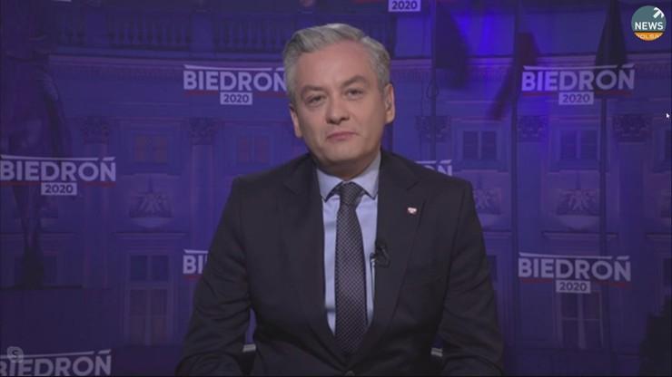 Biedroń: bycie totalną opozycją przysłania racjonalność