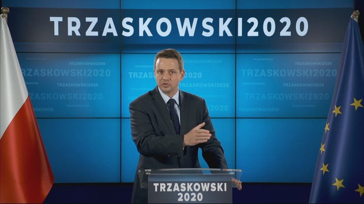 """""""W miejsce obecnej telewizji powstanie nowa telewizja publiczna"""". Deklaracja Trzaskowskiego"""