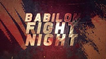 Babilon Fight Night. Gdzie obejrzeć transmisję?