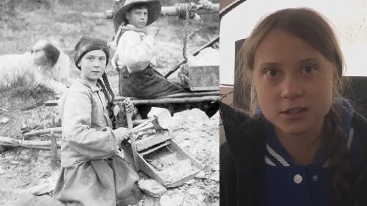 """""""Greta Thunberg"""" sprzed 121 lat. Zdjęcie rozpala wyobraźnię internautów"""