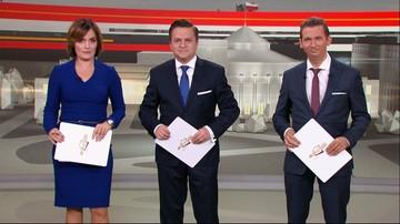 Wieczór wyborczy w Polsat News. Sondażowe wyniki, gorące komentarze [OGLĄDAJ]