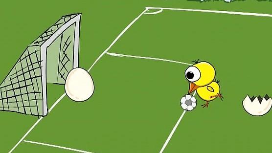 Pindol - Dwa jajka grają w nogę
