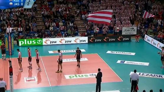 Asseco Resovia Rzeszów - Jastrzębski Węgiel set 1, PlusLiga
